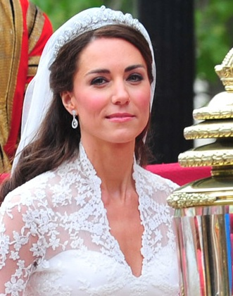 wedding day hairstyle. Kate-Middleton-Wedding-Day-